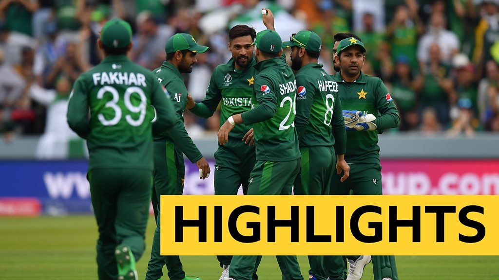 Cricket World Cup highlights - Pakistan beat South Africa at Lord's