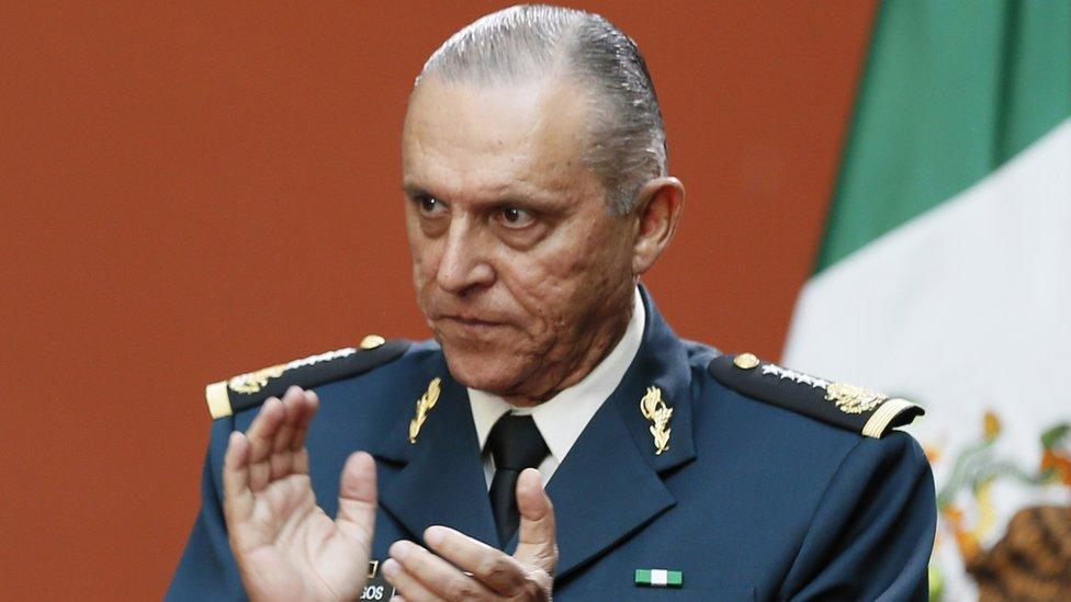 Salvador Cienfuegos en 2016.