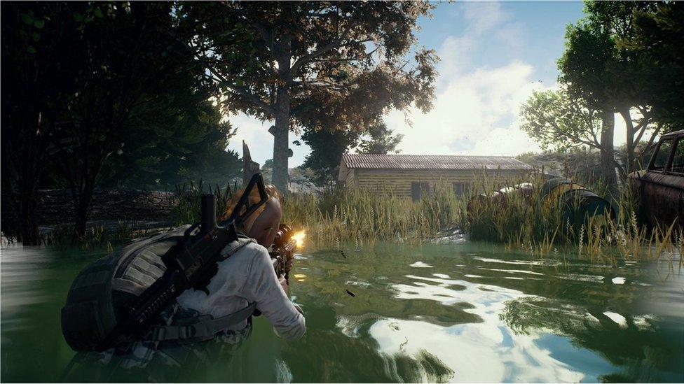 Screenshot from PUBG