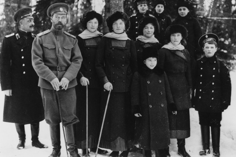 Russian royal family, 1916