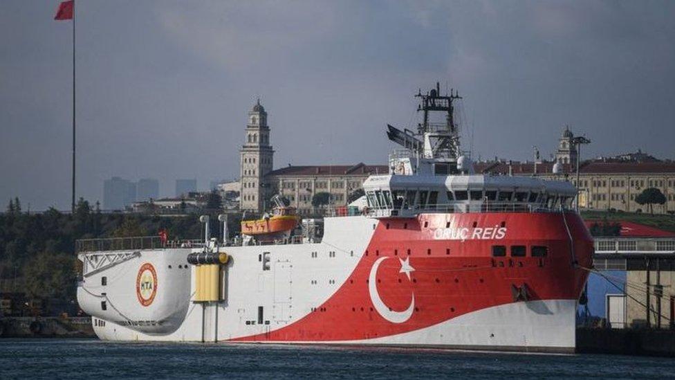 اليونان اعتبرت رحلة السفينة التركية أوروج مخالفة للقانون الدولي