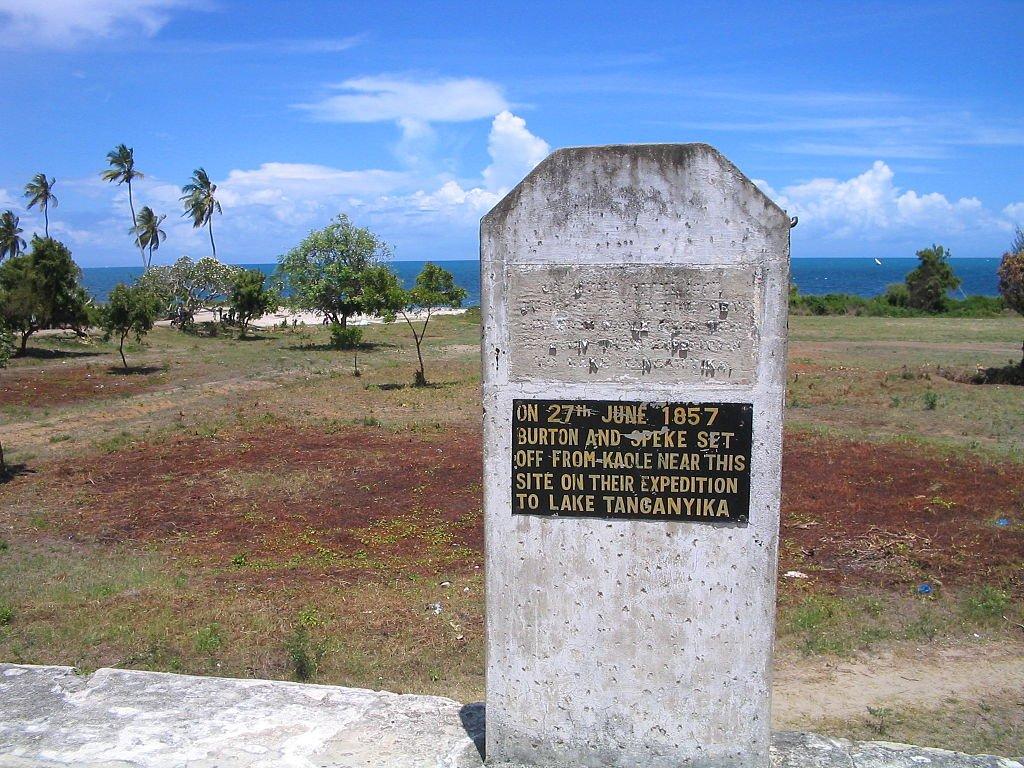 Mesto, otkuda načali svoю эkspediciю Bёrton i Spik.
