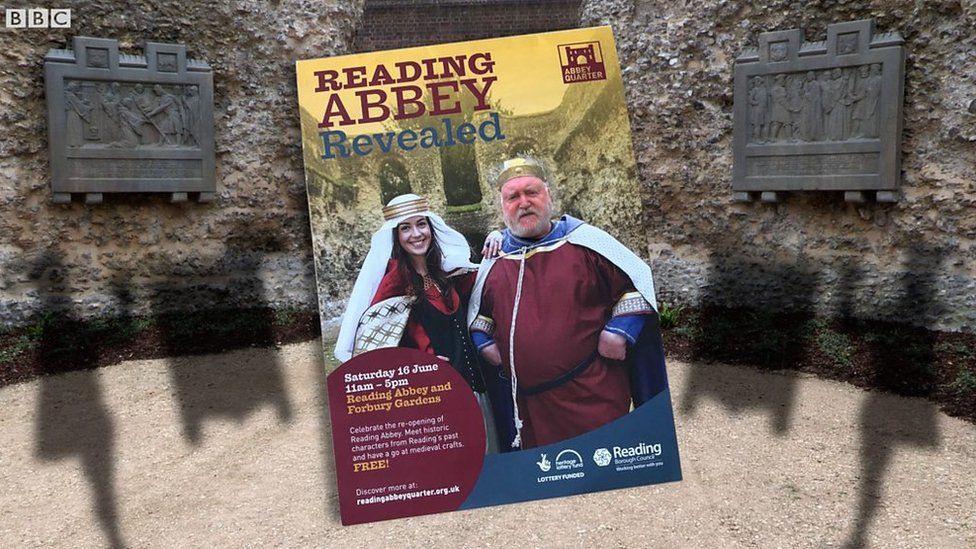 Reading Abbey re-opens after £3m repairs