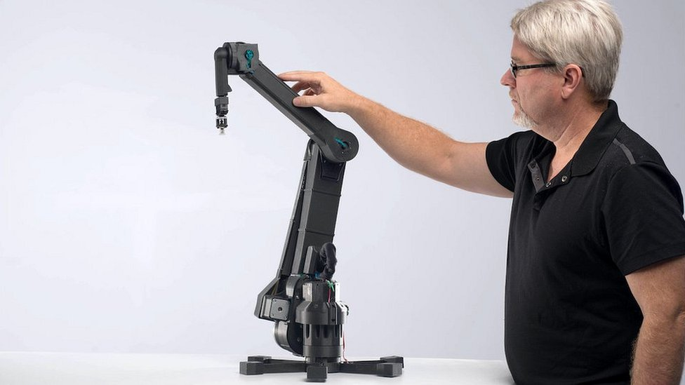 The Dexter robotic arm from Haddington Dynamics