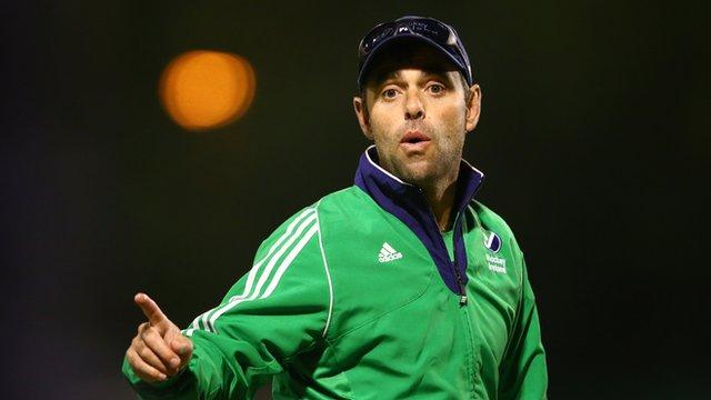 Ireland coach Craig Fulton