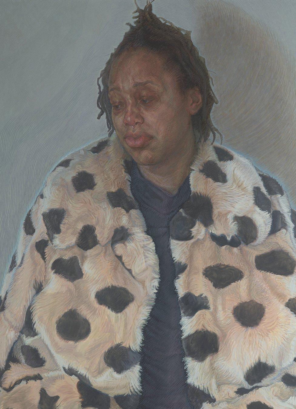 Imara in her Winter Coat