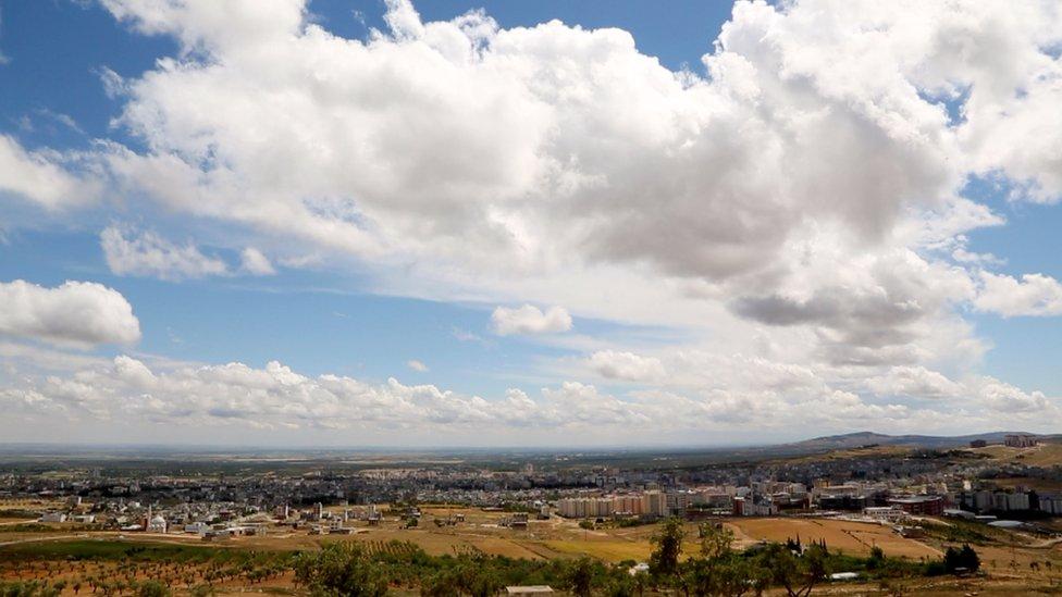 Panoramic picture of Kilis