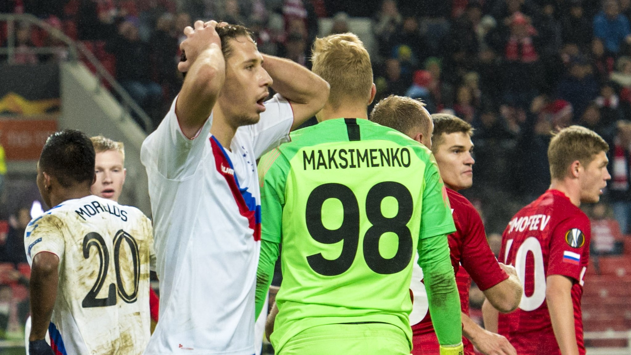 Nikola Katic: 'Unlucky' Rangers lost 'four stupid goals' to Spartak Moscow
