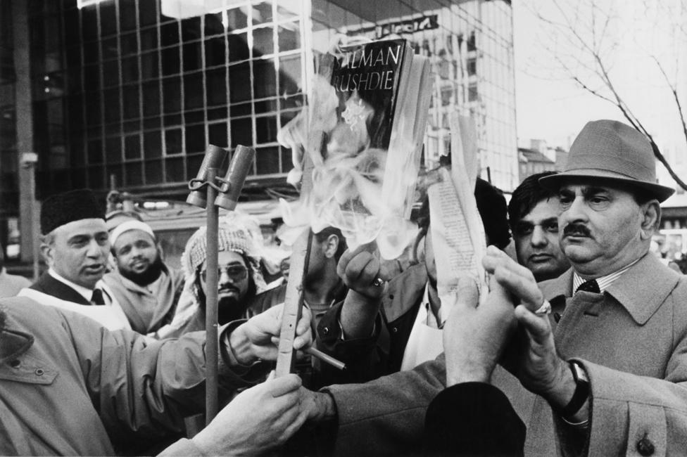 Burning the Satanic Verses in Bradford