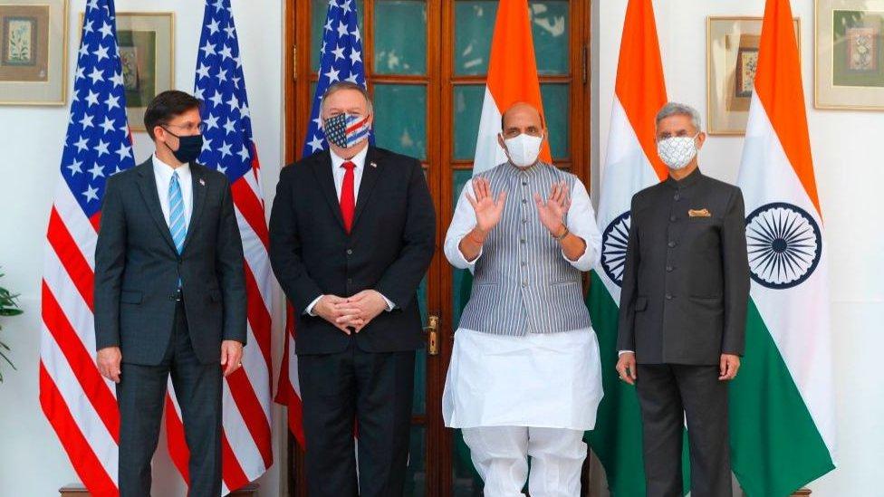 10月底,印度與美國簽署軍事協議,被認為是印美關係的巨大突破。