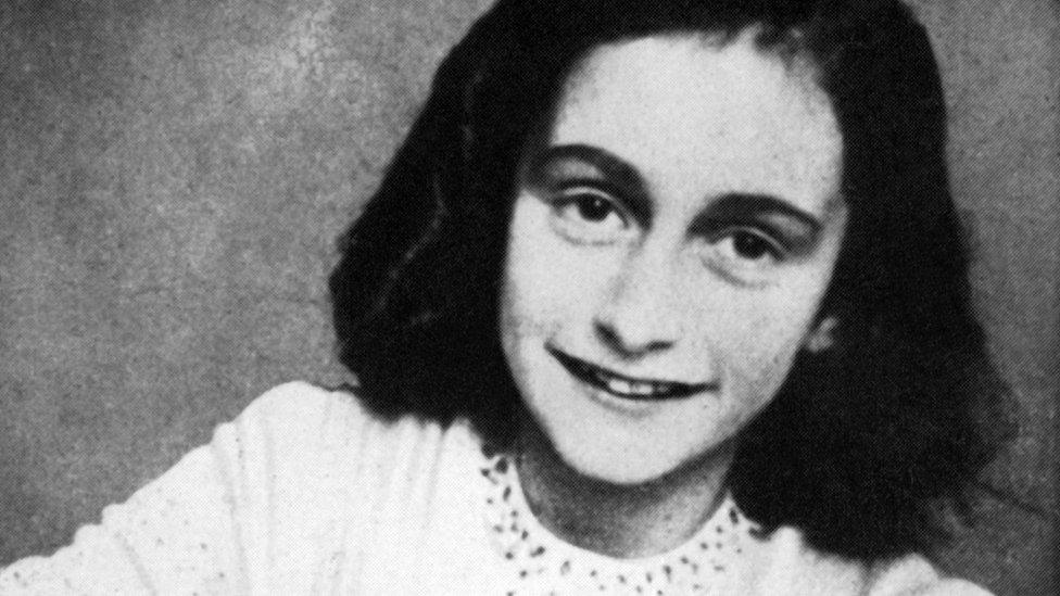 1959年公布的一張安妮·弗蘭克的照片。