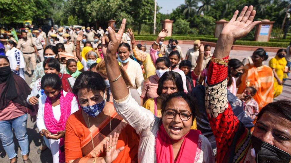 Hindistan, eylemler