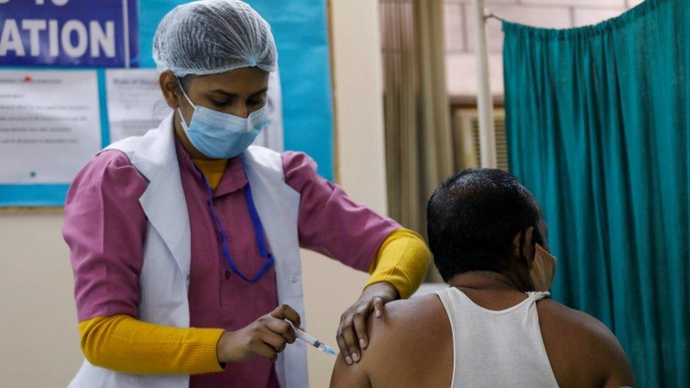 vacinação na Índia
