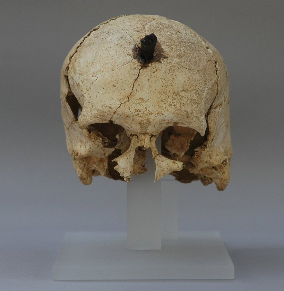 Iberian head, once nailed to someone's door