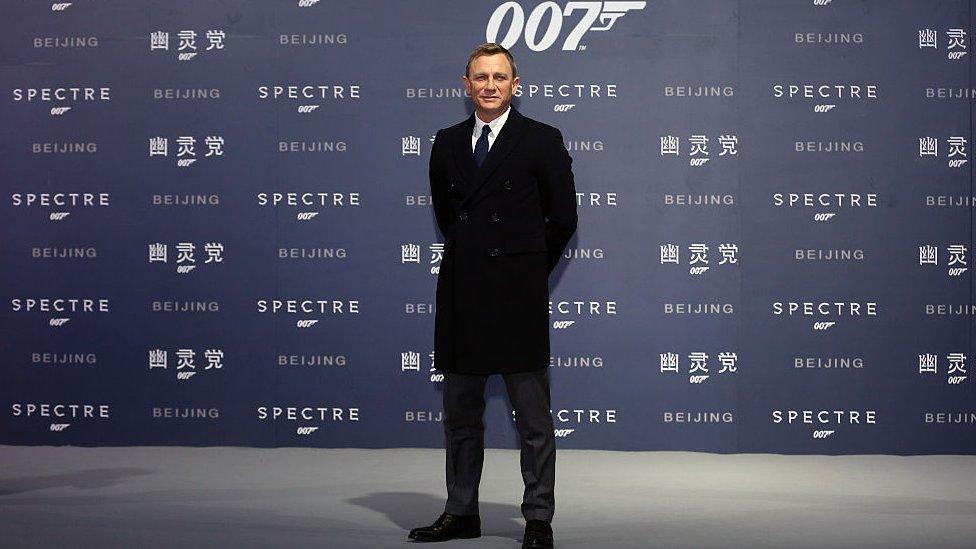 Daniel Craig in a Beijing photocall