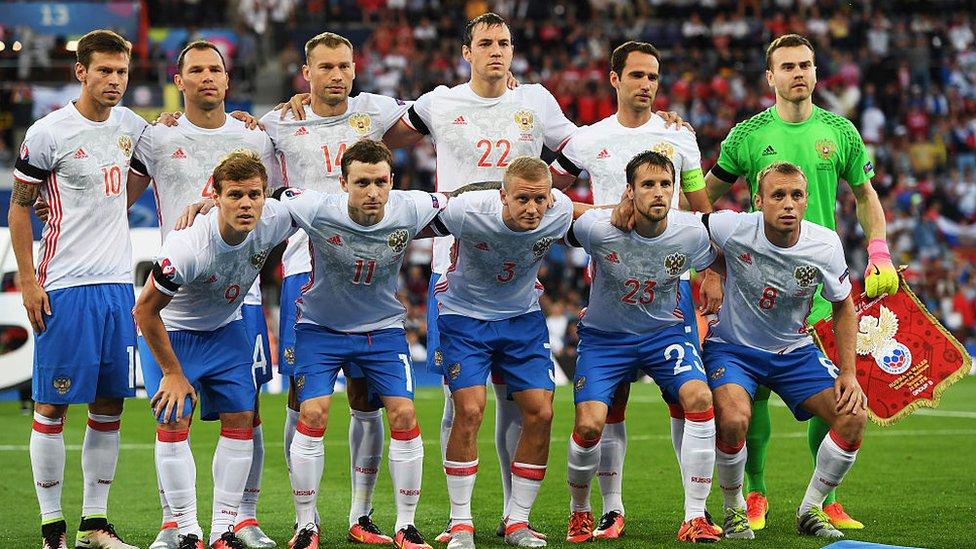 La selección de Rusia nunca ha logrado pasar de primera ronda.