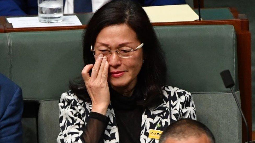 Gladys Liu: The row over a trailblazing Chinese-Australian MP - BBC News