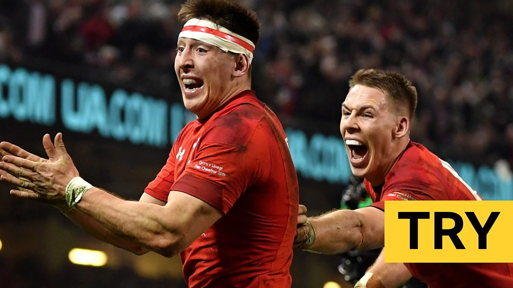Six Nations: 'Absolutely sensational!' Josh Adams seals Wales victory