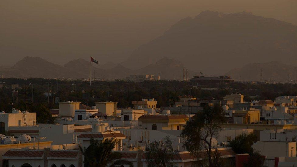 Vista de la ciudad de Al Ain, en Emiratos Árabes Unidos.