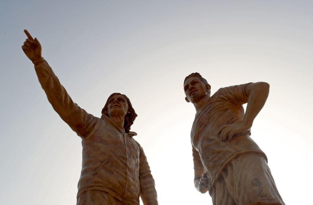 Gareca se ha convertido en un ídolo para los hinchas peruanos hasta el punto que su imagen forma parte de una estatua junto a Paolo Guerrero.