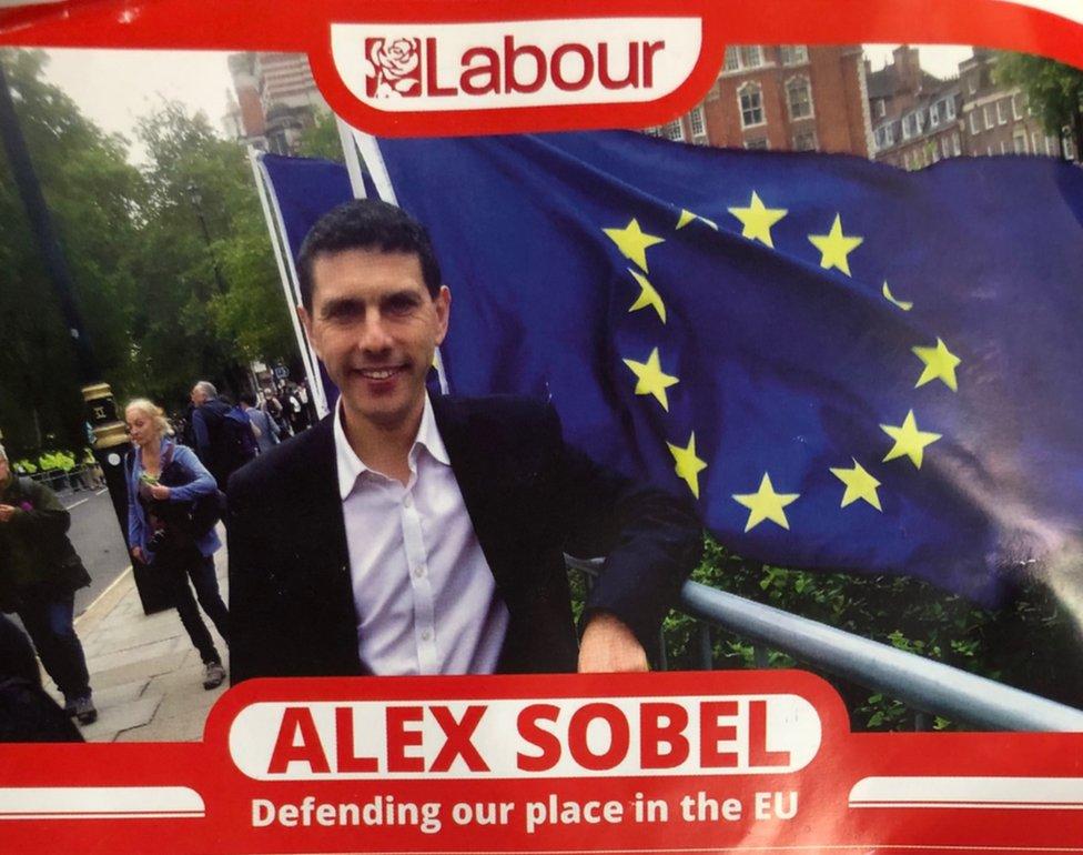 Alex Sobel leaflet