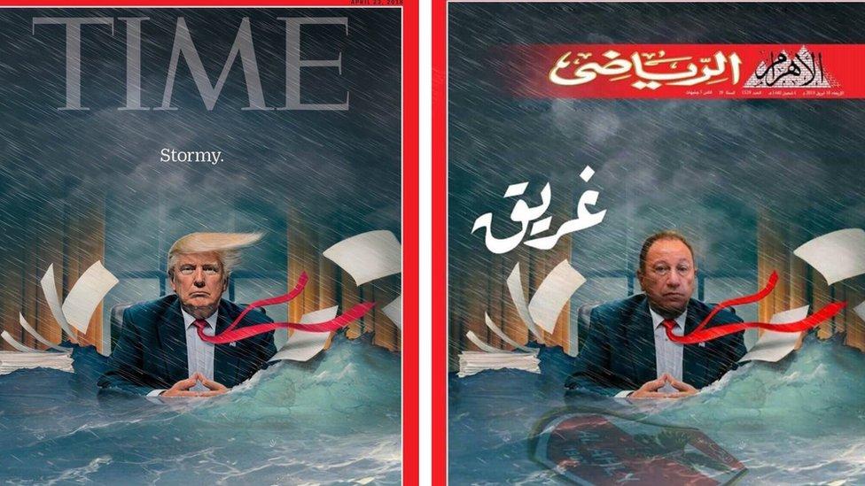 أثارت مجلة الأهرام الرياضى في مصر جدلاً واسعاً
