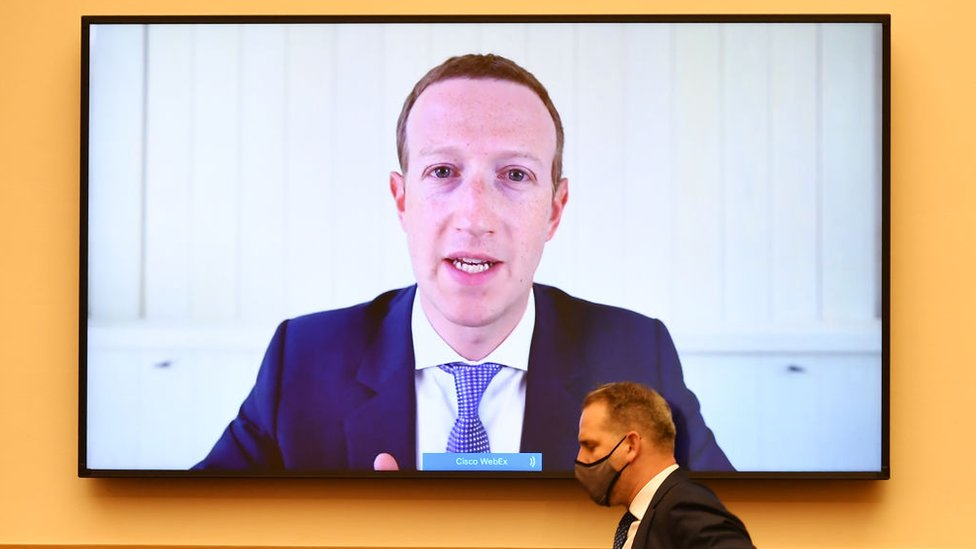 Facebook boss Mark Zuckerberg testified before the US House Judiciary Committee in July over antitrust concerns