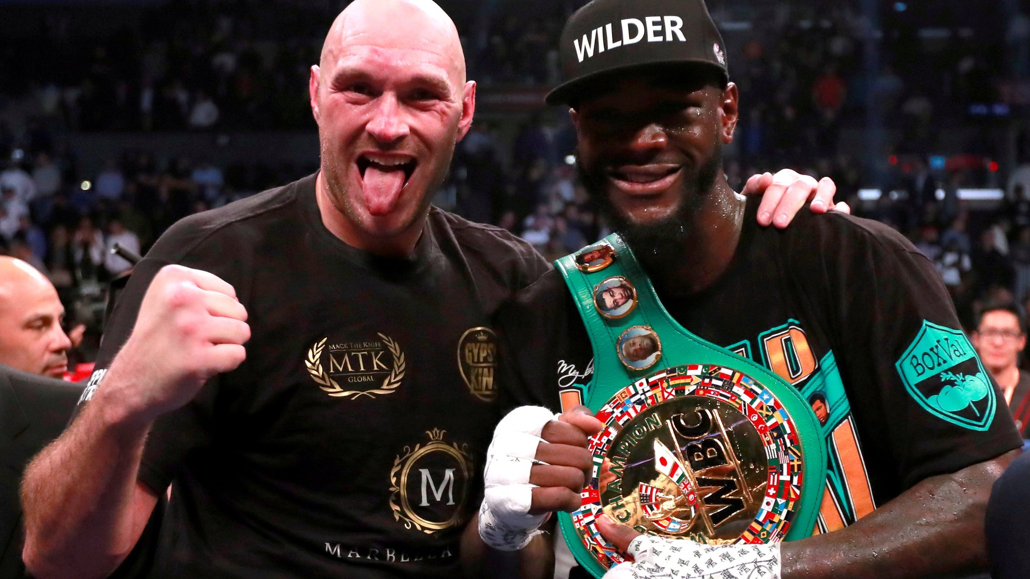 Wilder v Fury II: WBC says Briton is entitled to greater share of rematch purse