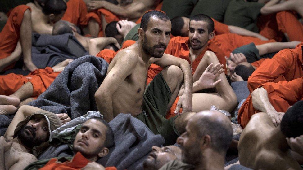 IŞİD'li cezaevi