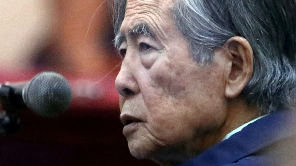 Alberto Fujimori en 2021
