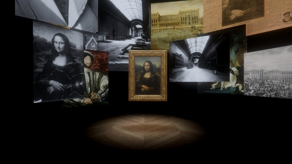 Mona Lisa: Beyond the Glass is the VR experience at the Louvre in Paris