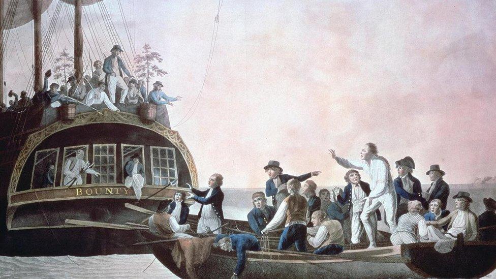 Bounty gemisinde isyan