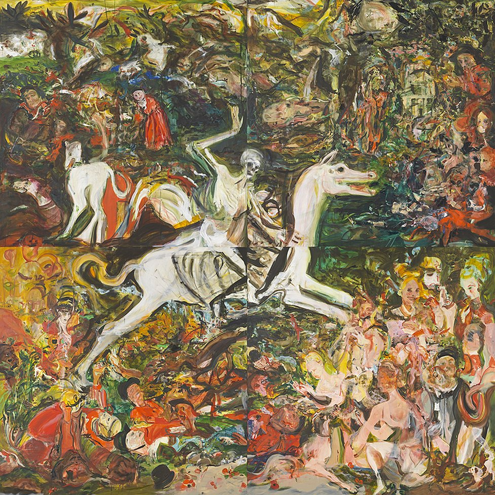 The Triumph of Death, 2019 by Cecily Brown