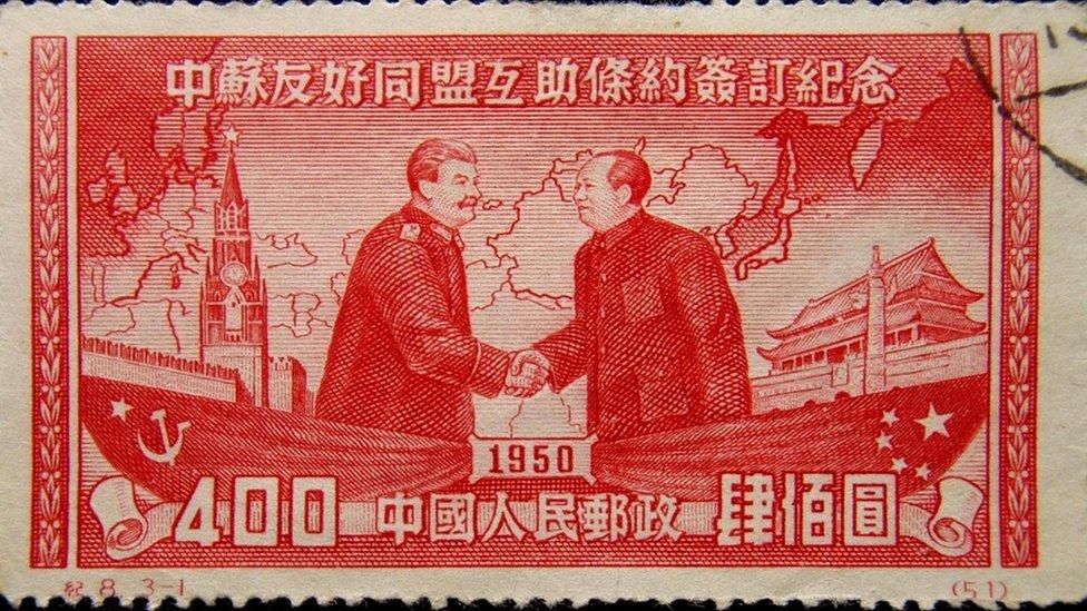 في عام 1950، وقّع الاتحاد السوفيتي معاهدة التحالف مع الصين، التي كان لها تأثير مباشر على قطاع الكمبيوتر في الصين