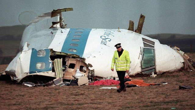 Cockpit of Pan Am flight brought down over Lockerbie