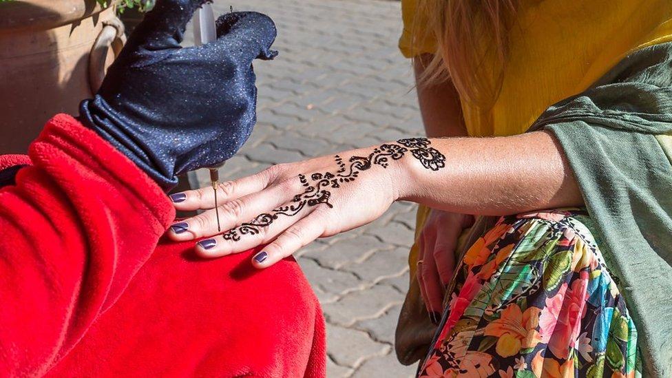 Tatuaje de henna