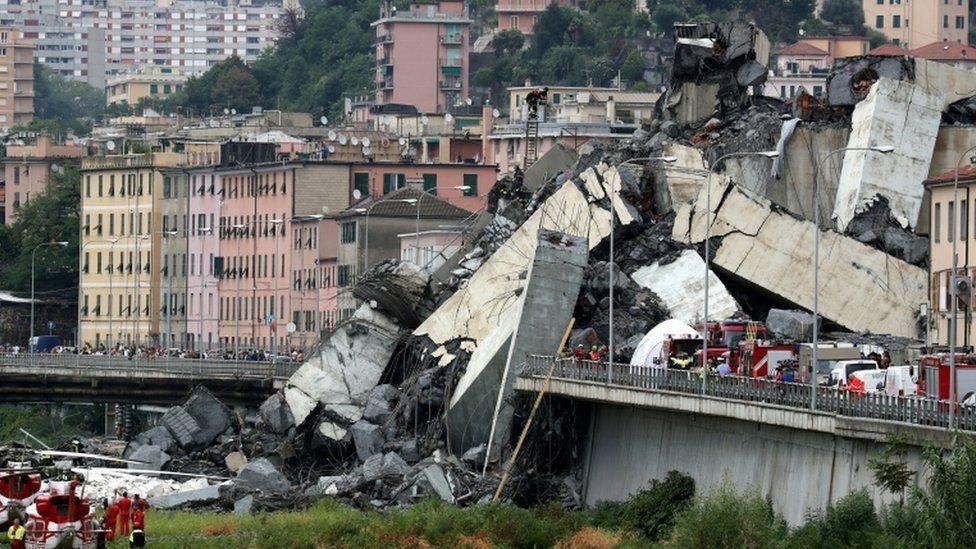 Puente en Génova