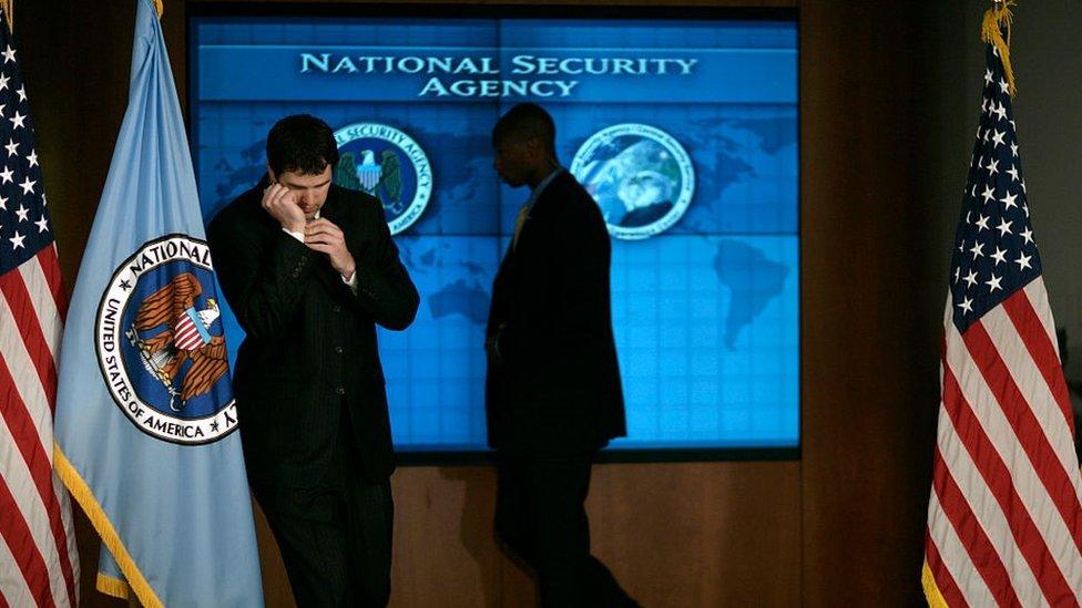 Agencia Nacional de Seguridad de Estados Unidos, NSA.