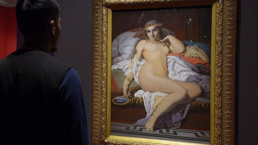 """Friné"" de Gustave Boulanger"