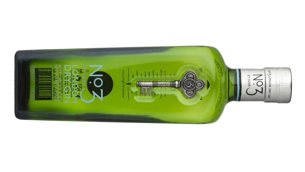 A bottle of Berry Bros & Rudd gin