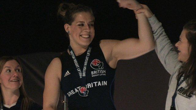 Champion Godley looks to Rio 2016