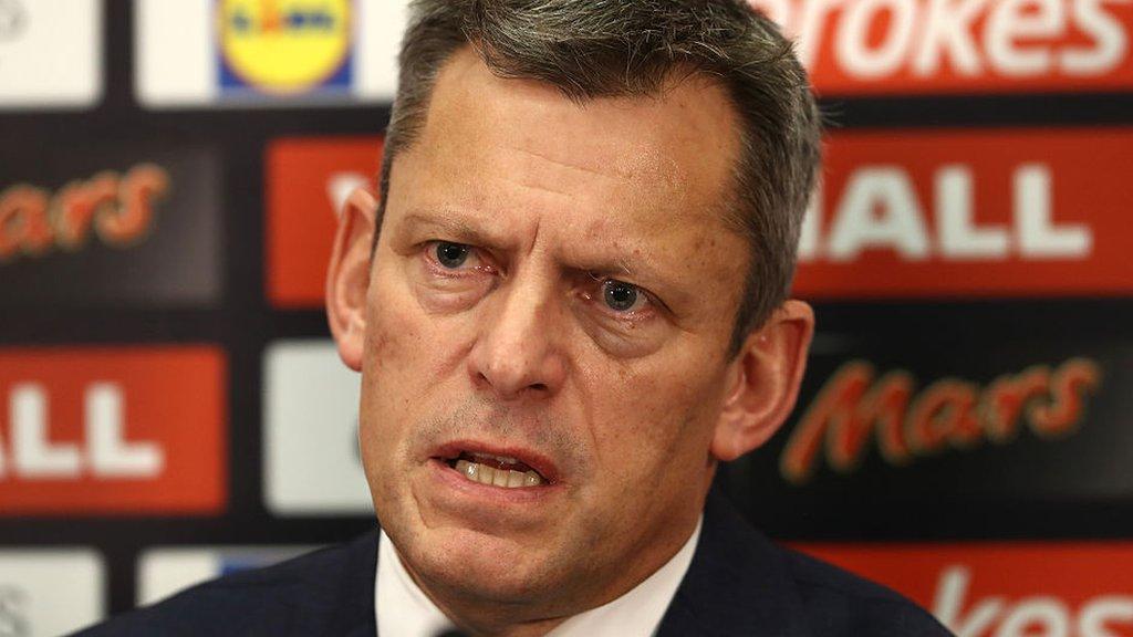 FA chief executive Glenn to leave at end of season