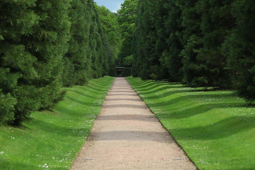 Path at Biddulph Gardens