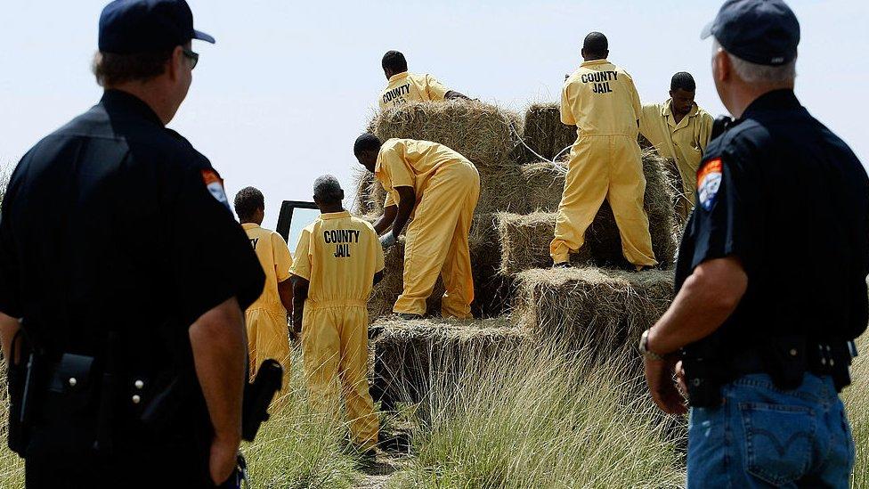 سجناء في تكساس