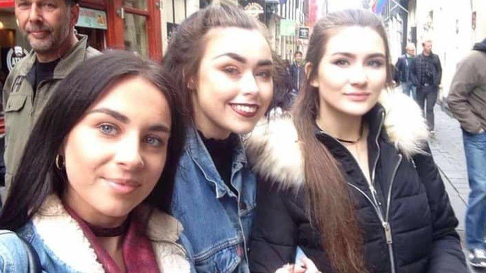 Caitlin, Ellis and Skye