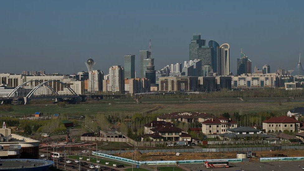 Astana skyline