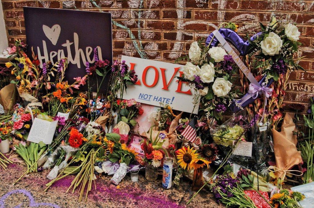 نصب تذكاري لهذر هاير، الفتاة التي قتلت دهسا في شارلوتسفيل
