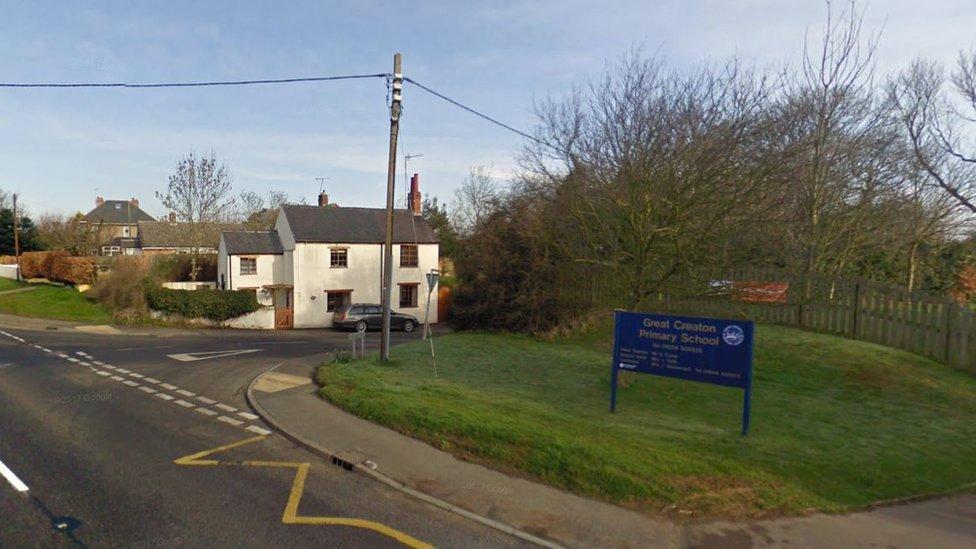 Parents 'devastated' at Great Creaton school closure