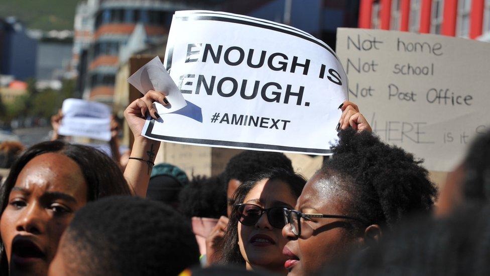 Cape Town protest