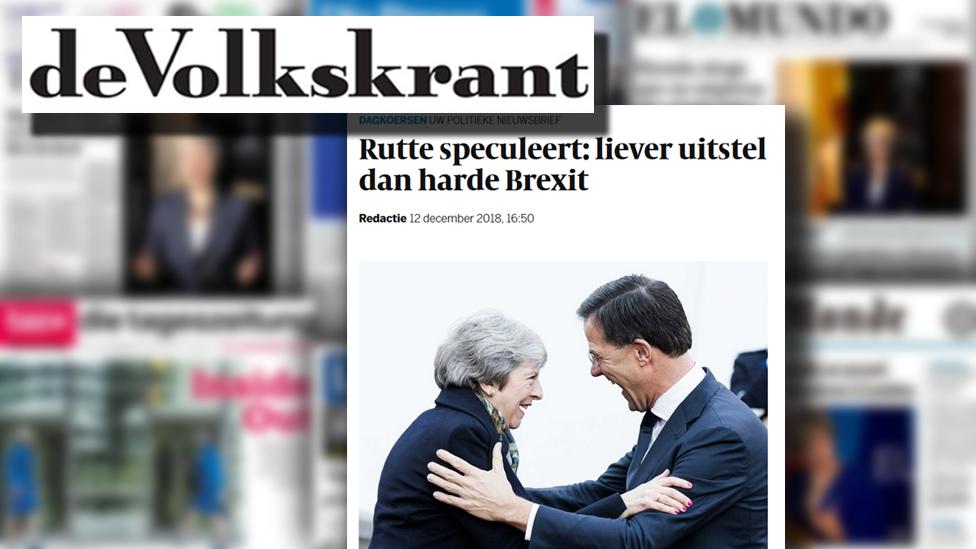 Dutch newspaper Volkskrant